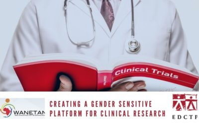 Creating a Gender sensitive platform for clinical research in WANETAM (TALENT) Call for applications for TALENT PhD Training